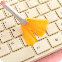 Mini Corner slit colorful dusting brushs paintbrush type computer keyboard cleaning brush Pocket  Keyboard Dust Collector