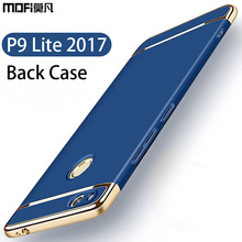 huawei P9 lite 2017 case huawei p9 lite 2017 cover luxury bumper MOFi original  back coque 3 in 1 huawei P9 lite 2017 case