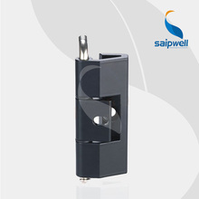 SP210 Matt Black Zinc Alloy Small Hinge for Box /180 Rotation Tensile Strength Industrial Cabient Hinge (5pcs/lot)(China)