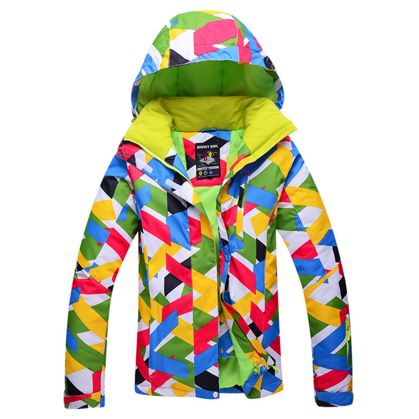 Free Shopping 2016 New Outdoor Winter Warm Women Skiing Jacket Waterproof Windproof Ski Suit(China (Mainland))