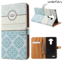Wonderfultry For LG G 4 Case Capa Pattern Printing Leather Wallet Magnetic Closing Flap Cases For LG G4 Cell Phone Cover 001