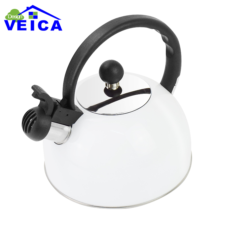 2017 Real Hot Sale Red Chaleira Whistling Kettle For Gas Stove Bouilloire 2.5l Stainless Steel Whistle Tea Kettle Water Bottle(China)
