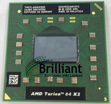 Shipping free For AMD cpu laptop Turion TL-60 CPU 1M Cache/2.0GHz/Socket S1/Dual-Core Laptop processor tl60 TL 60