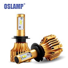 Oslamp Car LED H1 H7 Headlight 70W 7000LM 6500K SMD Chips All-in-one Aftermarket Replacement Powerful 9005 9006 H11 LED Car Bulb(China)