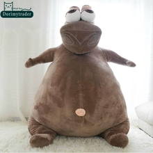 Dorimytrader Hot New 39'' / 100cm Super Funny Stuffed Soft Plush Large Animal Hippo Toy, Nice Baby Gift, Free Shipping DY60714
