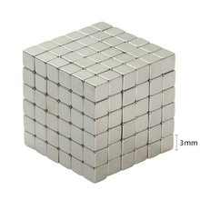 216 Pcs Mini Square Magnetic Balls Magnet Block Puzzle Cube Novelty Toy for DIY Educational Children Kids Toys  3mm 4mm 5mm