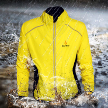 WOSAWE Men Women Skiing Cycling Jacket Windproof Waterproof Sports Coat Bicycle Outwear Breathable Reflective Riding Clothing