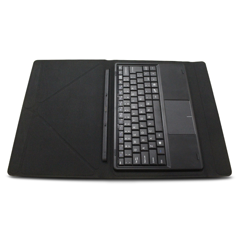 Docking Magnetic Suction Leather Supporting Keyboard Fingerboard Protective Case Cover with Keyboard for Cube I10 Tablets<br>