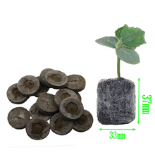 8pcs Nursery Soil Block Garden Flowers Planting The Soil Block Plant Seedlings Peat Cultivate Block Seed Migration Tools(China)