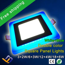 New Design Square LED Panel Downlight 5W 9W 16W 24W 3 Model LED Panel Lights AC85-265V Recessed Ceiling Painel Lights CE ROHS(China)
