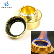 Portable Copper Alloy Mini Ultra-light Spirit Stoves Alcohol Stove Outdoor Camping Stove Furnace B-9