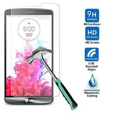 Ultra Thin 9H 0.26mm Tempered Glass For LG G2 G3 G4 S K10 G5 G6 Magna G4C Spirit Leon X Power 4G LTE Screen Film Protector Case(China)