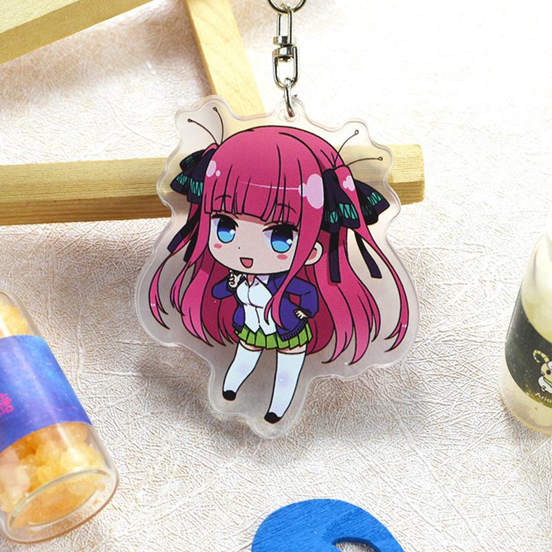 The Quintessential Quintuplets Plush Doll Keychain Mascot Futaro