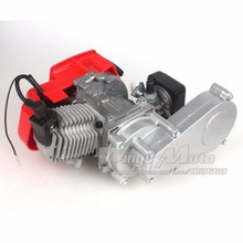 47CC 2 Stroke Engine with T8F 14t Gear Box Easy to Start Pocket Bike Mini Dirt Bike Engine DIY Engine