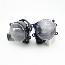 Hot sale! LED Fog lamp + Daytime Running Lights for  RX570 RX460 RX350 2000~2012 accessories dual mode