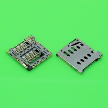 2pcs/lot Sim Card Reader Connector Socket Holder Slot for Oneplus One and for oppo finder 5 x909t R809T