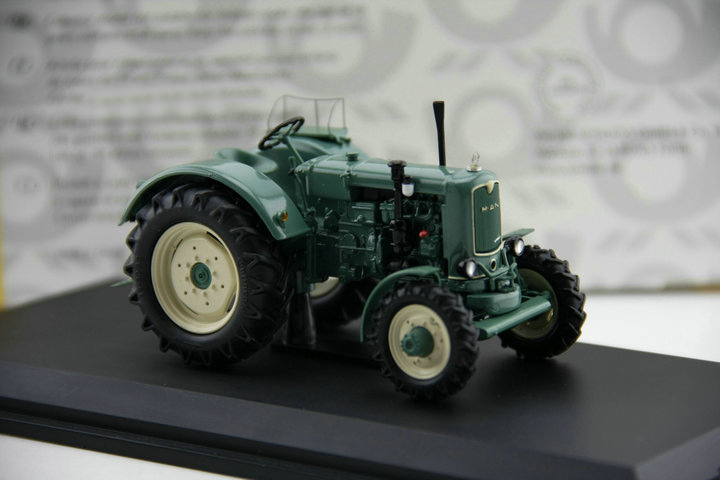 Out of print SCHUCO 1:43 MAN 4 S 2 alloy tractor model Agricultural machinery model Boutique collection model<br><br>Aliexpress