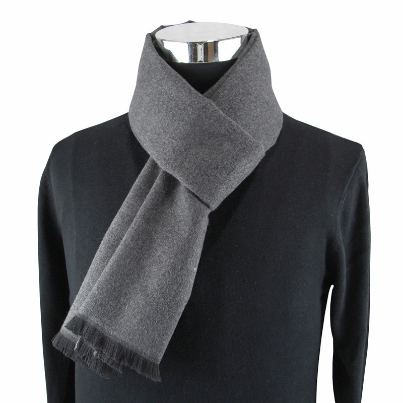 Newest fashion design casual scarves winter Men's cashmere Scarf luxury Brand High Quality Warm Neckercheif Modal Scarves men 3