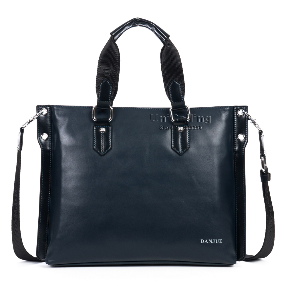 Fashion brand genuine leather men bag high quality cow leather business men handbag messenger bag laptop computer leather bag <br><br>Aliexpress