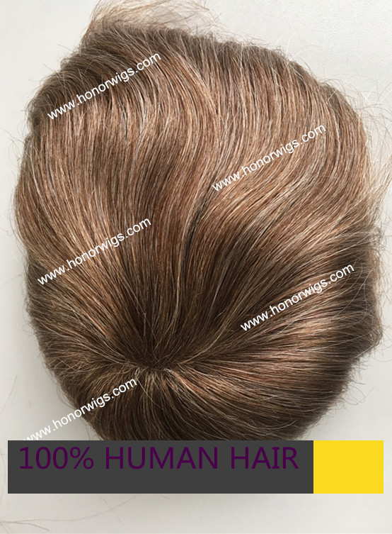 custom base size 6X8 or within 7x9 swiss lace natural wave freestyle blond and grey hair mens toupee HT281 4-6inches<br><br>Aliexpress