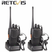 2pcs Retevis H777 Portable Radio Walkie Talkie 16CH UHF 400-470MHz Handy Ham Radio Hf Transceiver Handheld cb Radio A9105A