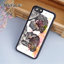 MaiYaCa Han Solo and Princess Leia from Star Wars fashion soft mobile cell Phone Case Cover For iPhone 5 5S SE Custom DIY cases(China)