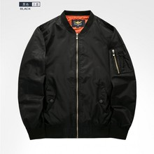 New product  spring / autumn big size M-6XL men's sportwear leisure air force one collar jacket MA01 pilot men's baseball
