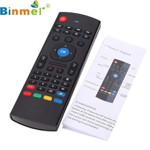 Factory Price Binmer New  2.4G Remote Control Air Mouse Wireless Keyboard For XBMC Android Mini PC TV Box Nov28 Drop Shipping