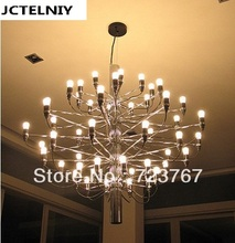 HOT  2013  NEW Nordic style Arteluce Gino Sarfatti designed  Chandelier 50 bulbs lamp+free shipping