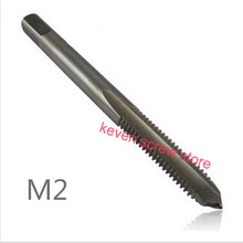 5 Pcs / Lot  M2 M2.5 M3 M4 M5 M6 Machine Spiral Point Straight Fluted Screw Thread Metric Plug Hand Tap Drill
