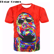 PLstar Cosmos Women/Men 3d T-shirts Christopher G. L. Wallace T-Shirt Biggie Smalls tees Summer Frank White Notorious t shirts(China)