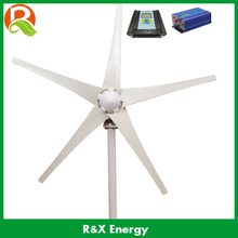 Wind energy generator 400w wind mill generator. Combine with wind/solar hybrid contorller(LCD display)+off grid inverter.(China)