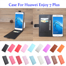5.5 Inch 9Color Litchi Leather High Quality For Huawei Enjoy 7 Plus Case Flip Covers For Huawei Enjoy 7 Plus Mobile Phone Cases