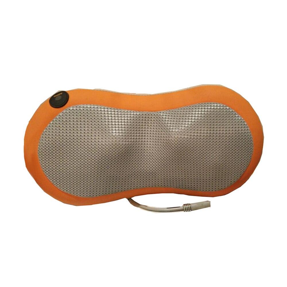HFR-858-3G HealthForever Peanut Shape Neck and Lumbar Full Body Shiatsu Heat Function Electric Home&amp;Car Massage Pillow Cushion<br>