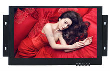 10 inch Open Frame Industrial monitor metal monitor with VGA /AV/BNC/HDMI monitor 1280X800(China)