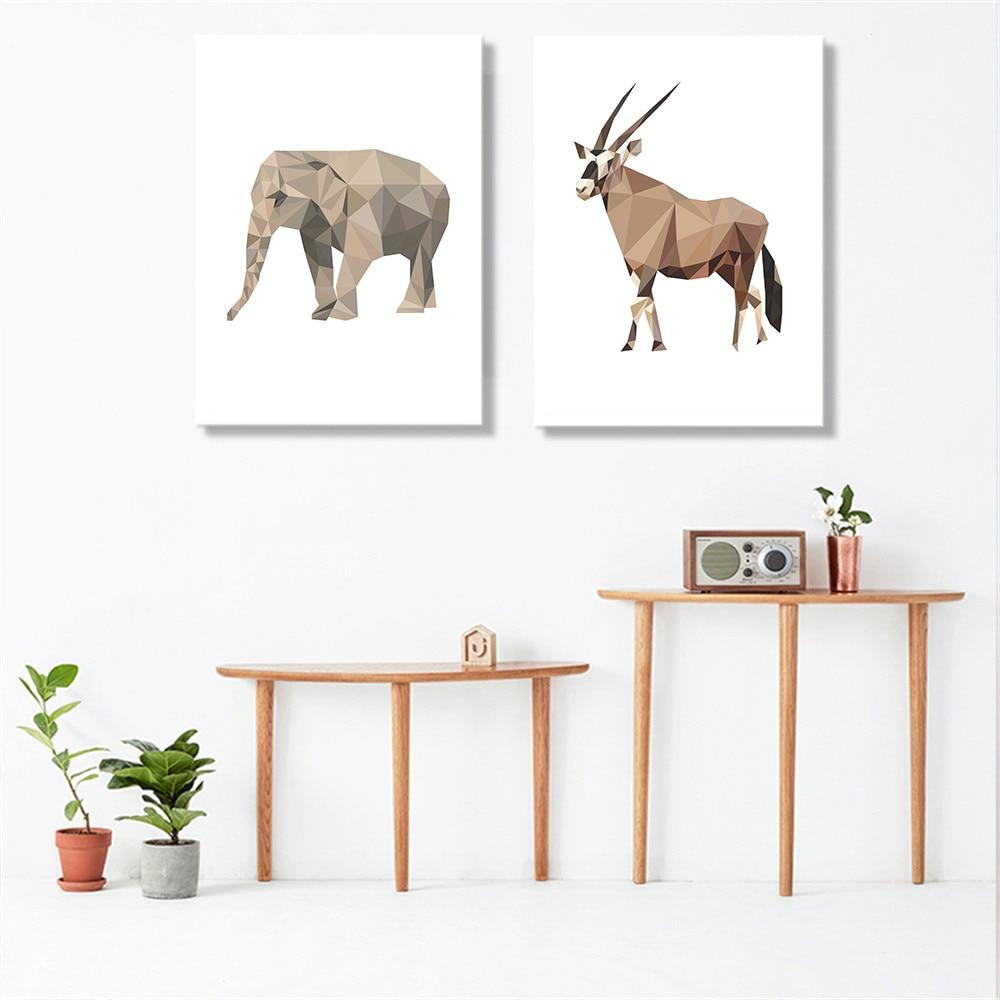 Estilo-n-rdico-Geometria-Abstrata-Animais-Macaco-Pintura-A-Arte-Da-Parede-Da-Lona-Retratos-Da (1)