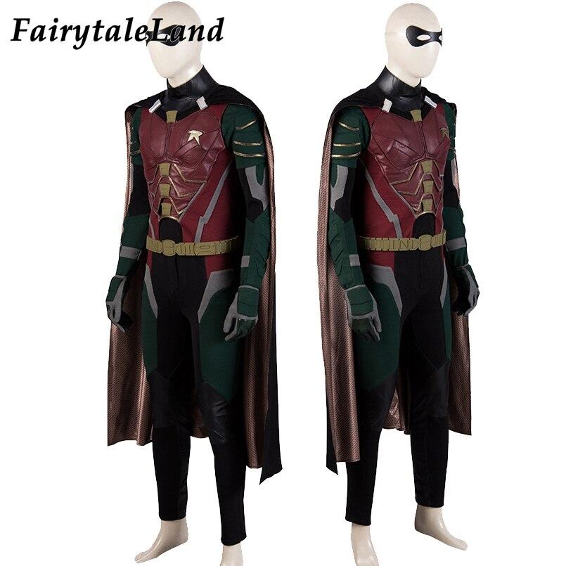 Nightwing Super-héros nouveau cosplay costume Dick Grayson Combinaison Zentai Costume Robin