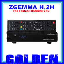 2pcs ZGEMMA STAR H.2H DVB-S2  DVB-T2/C S2 T2 Combo satellite terrestrial cable tv receiver no dish free DHL shipping ZGEMMA-STAR