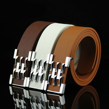 Accessories For Men Gents Leather Belt Trouser Waistband Stylish Casual Belts Men With Black Grey Dark Brown And Brown 5118