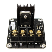 3D Printer Parts General Add-on Heated Bed Power Expansion Module High Power Module expansion board for 3D Printer(China)