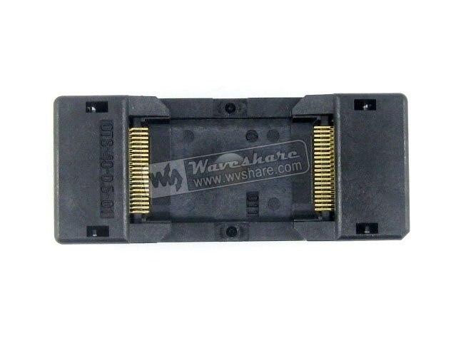 module TSOP40 TSOP OTS-40-0.5-01 Enplas IC Test Socket Adapter 18.4mm Width 0.5mm Pitch<br>