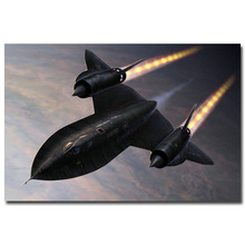 SR-71 Blackbird Aircraft Military Art Silk Poster Print 13x20 24x36 inches Sky Landscape Pictures For Wall Decor 002