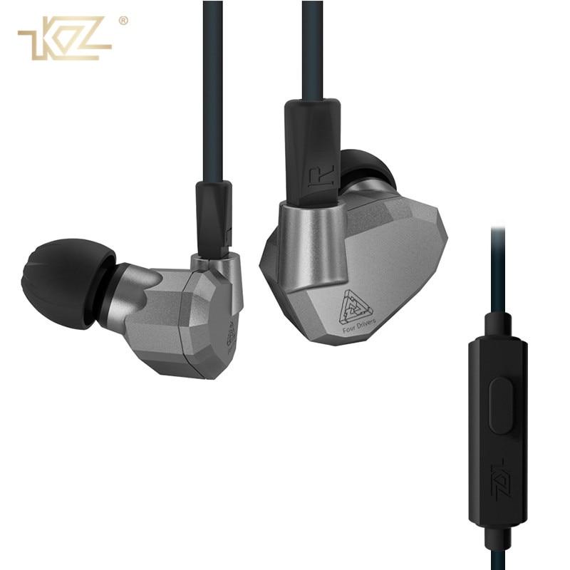 KZ Original ZS5 In Ear Earphone Headphones 3.5mm HIFI Running Sport Bass Fone De Ouvido with Micphone Earbud for Phone Xiaomi<br>