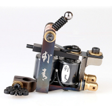 Tattoo Machine Gun High Quliaty 10 Wrap Coils Handmade Tattoo Coil Machine Tattoo Body Art Accessories