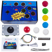 SunFounder Raspberry Pi Retro Game Box DIY Arcade Fighting Joystick Push Buttons Controller for RetroPie Raspberry Pi 3/2/B+(China)