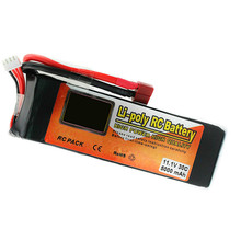 11.1V 5000mAh RC Lipo Battery 3S 30C T Plug Li-polymer Power for RC Helicopter Airplane Drone Parts Batteries(China)
