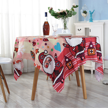 Custom Animal Pattern Novelty Design Waterproof Oilproof Polyester Tablecloth for Kids(China)