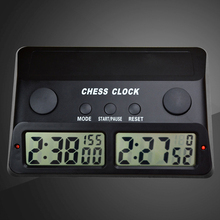 New Arrival Digital Chess Clock Count Down Timer Electronic Board Game Player Set Portable Handheld Man Piece Master