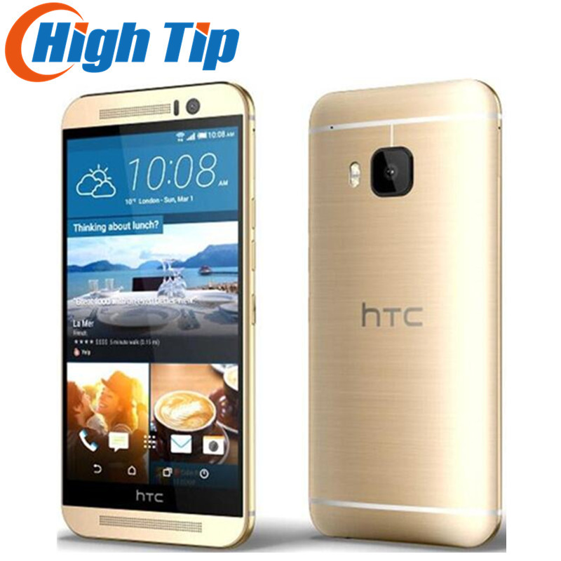 "Original Unlocked HTC One M9 GSM 3G&4G Android Quad-core RAM 3GB ROM 32GB Mobile Phone 5.0"" WIFI GPS 20MP Refurbished Dropship(China)"