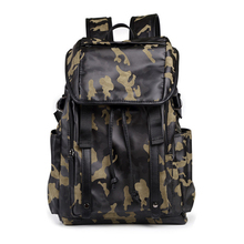Men Backpacks Nylon Camo Large Capacity School Bags for Teenagers Male Casual Laptop Backpacks Man Travel Rucksack Bagpack sac(China)